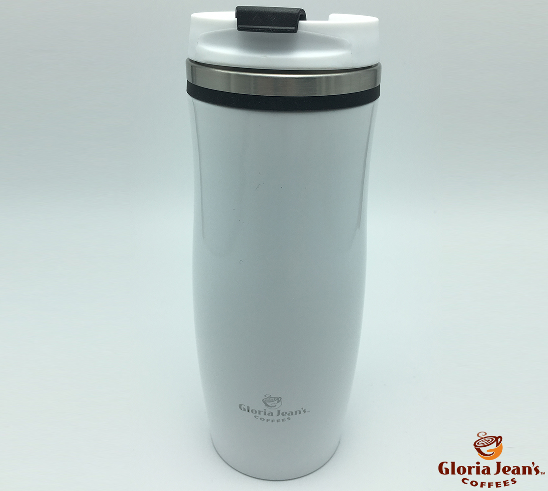 Termosuri Gloria Jeans Coffees Romania - Thermal Crema Alb Negru