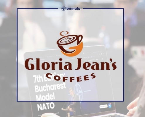 Gloria Jean's Coffees Sustine Conferinta Bucharest Model NATO